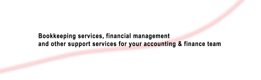 Bookkeeping services, financial management and other support services for your accounting & finance team