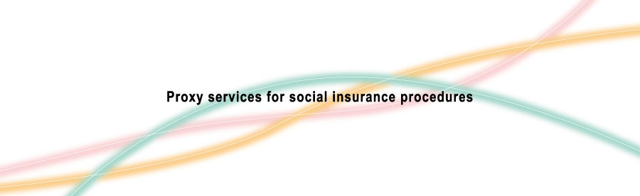 Proxy services for social insurance procedures